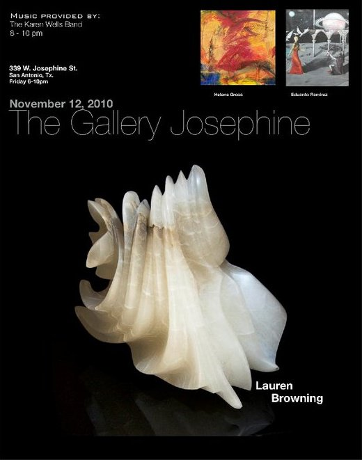 The Gallery Josephine invitation -- Nov 2010